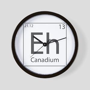 Canadium Eh? Wall Clock