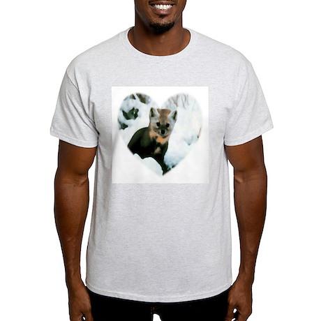 Little Fox Ash Grey T-Shirt