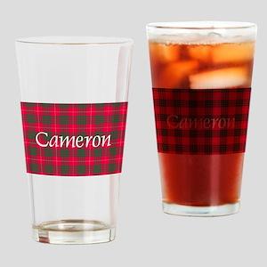 Tartan - Cameron Drinking Glass