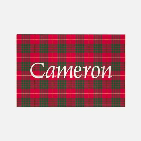 Tartan - Cameron Rectangle Magnet