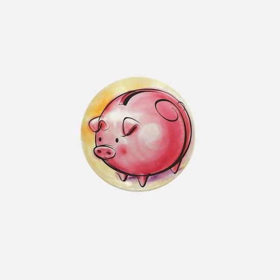 Miss Piggy Mini Button