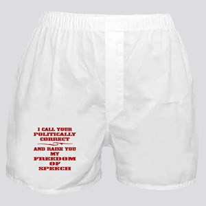 I Call And Raise You Boxer Shorts