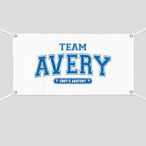 Grey's Anatomy Team Avery Banner