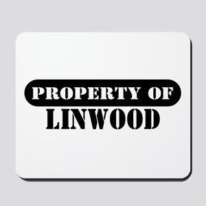 Property of Linwood Mousepad