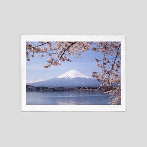 Mt. Fuji 5'x7'Area Rug