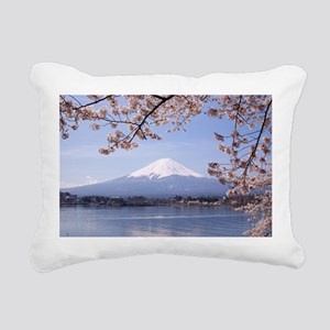 Mt. Fuji Rectangular Canvas Pillow