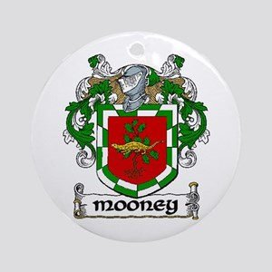Mooney Coat of Arms Ornament (Round)