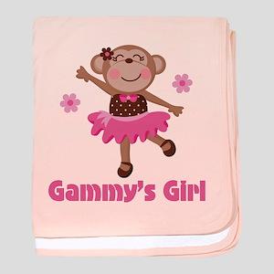 Gammy's Girl baby blanket