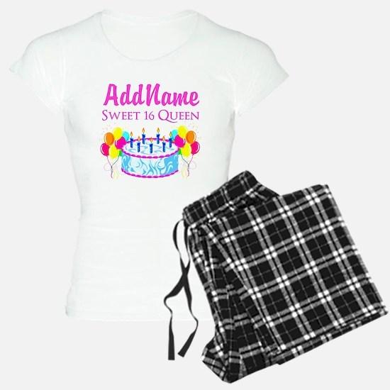SWEET 16 QUEEN Pajamas