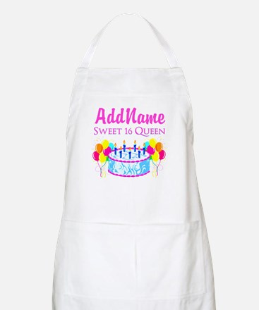SWEET 16 QUEEN Apron