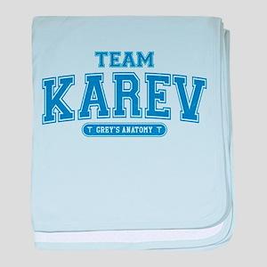 Grey's Anatomy Team Karev Infant Blanket