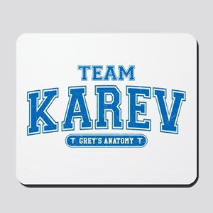 Grey's Anatomy Team Karev Mousepad