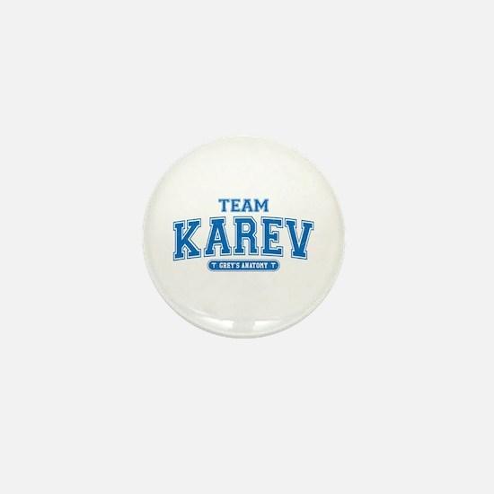 Grey's Anatomy Team Karev Mini Button