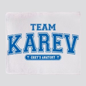 Grey's Anatomy Team Karev Stadium Blanket