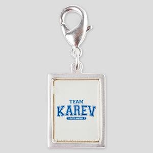 Grey's Anatomy Team Karev Silver Portrait Charm