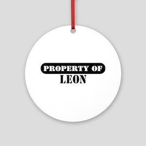 Property of Leon Ornament (Round)