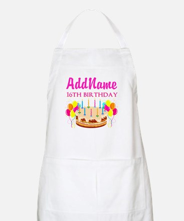 16TH BIRTHDAY Apron
