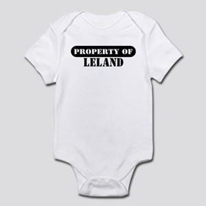 Property of Leland Infant Bodysuit