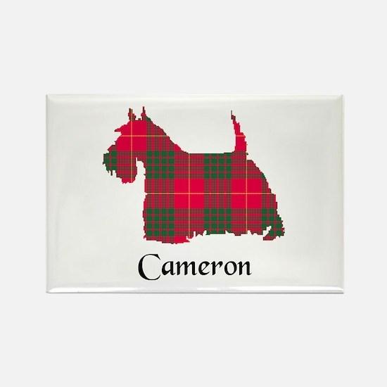 Terrier - Cameron Rectangle Magnet