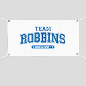 Grey's Anatomy Team Robbins Banner