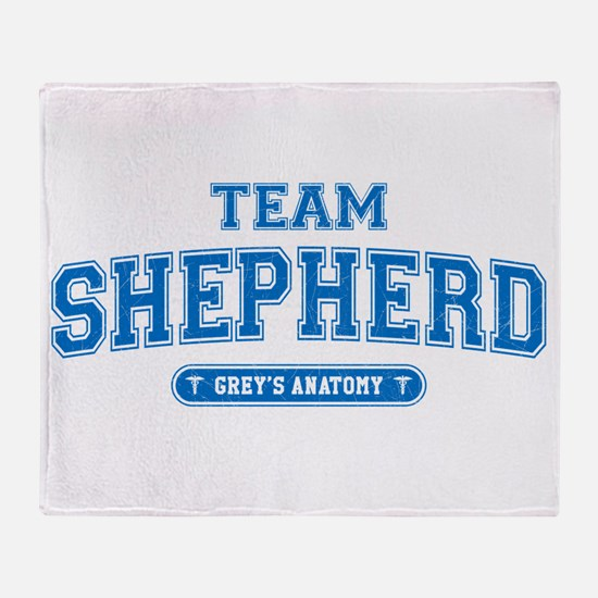 Grey's Anatomy Team Shepherd Stadium Blanket