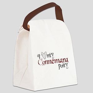 I love my Connemara pony Canvas Lunch Bag