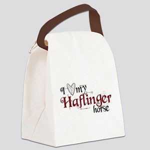 I love my Haflinger horse Canvas Lunch Bag