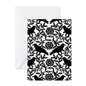 Black and white greeting cards cafepress m4hsunfo