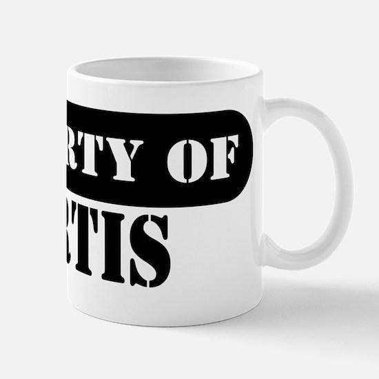 Property of Kurtis Mug