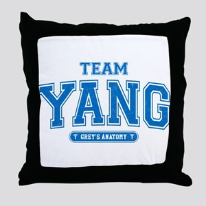 Grey's Anatomy Team Yang Throw Pillow