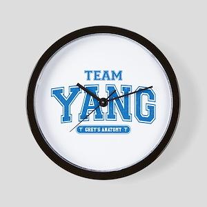 Grey's Anatomy Team Yang Wall Clock