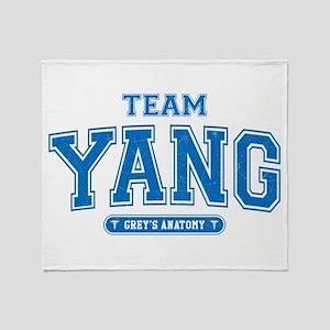 Grey's Anatomy Team Yang Stadium Blanket