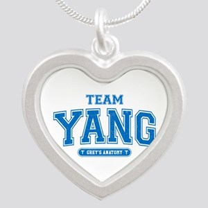 Grey's Anatomy Team Yang Silver Heart Necklace