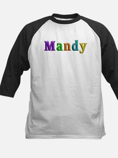 Mandy Shiny Colors Baseball Jersey