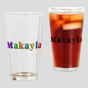 Makayla Shiny Colors Drinking Glass