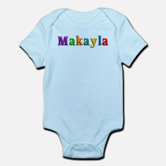 Makayla Shiny Colors Body Suit