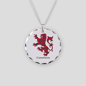 Lion - Cameron Necklace Circle Charm