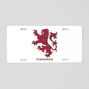 Lion - Cameron Aluminum License Plate