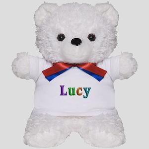 Lucy Shiny Colors Teddy Bear
