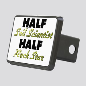 Half Soil Scientist Half Rock Star Hitch Cover