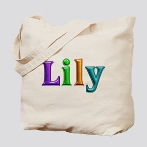 Lily Shiny Colors Tote Bag