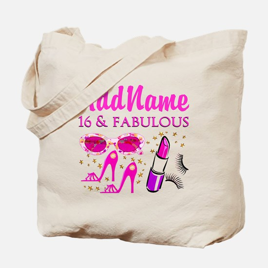 SNAZZY 16TH Tote Bag