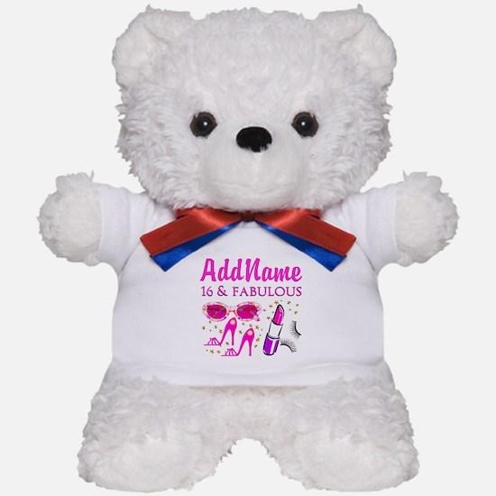SNAZZY 16TH Teddy Bear