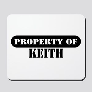Property of Keith Mousepad
