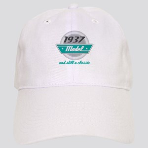 1937 Birthday Vintage Chrome Cap