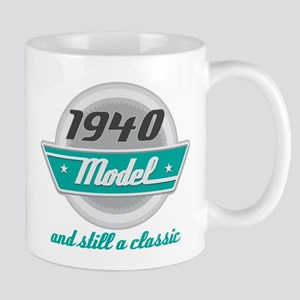 1940 Birthday Vintage Chrome Mug