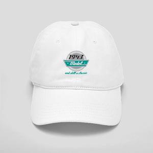 1943 Birthday Vintage Chrome Cap