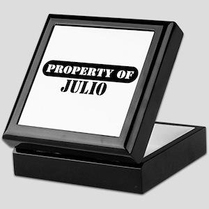 Property of Julio Keepsake Box