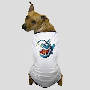 Cartoon Angler Fish Dog T-Shirt