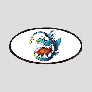 Cartoon Angler Fish Patches